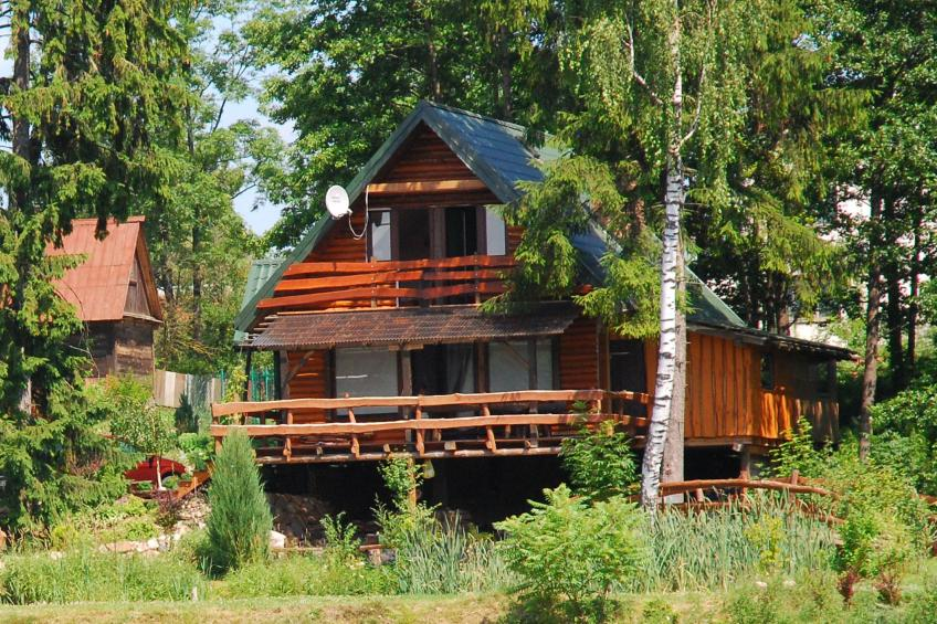 A large comfortable house Gajewo in Podlasie